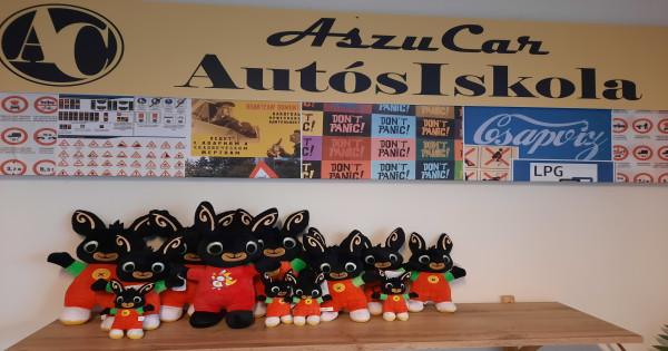 Bing Nyuszi Nyereményjáték az AszuCar Autósiskolánál