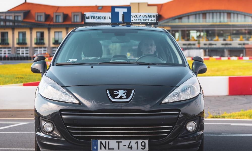 Aszucar Peugeot 207 HDI jogosítvány kecskemét